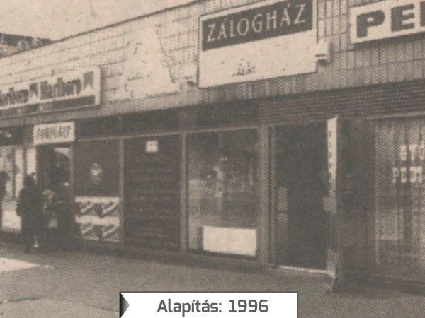 aurum_zaloghaz_1996_alapítas